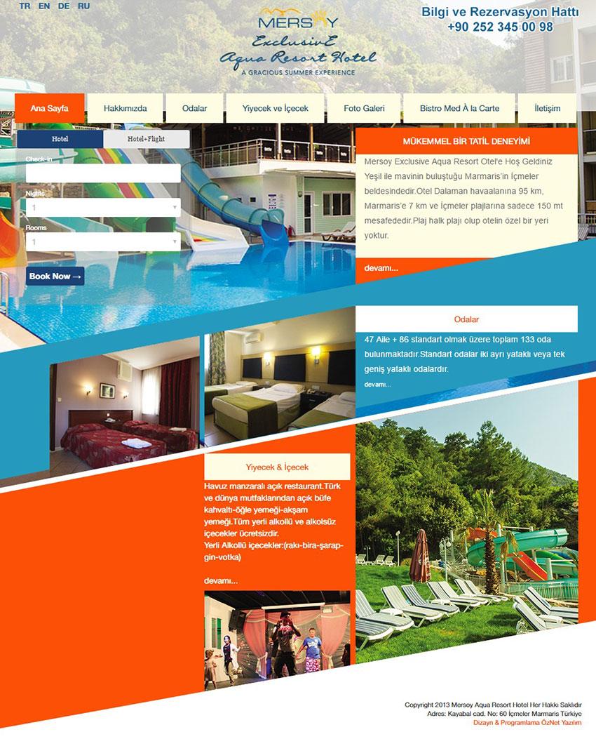 MERSOY EXCLUSIVE AQUA RESORT HOTEL